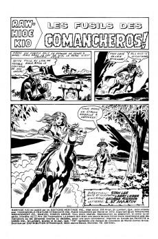 Extrait de Rawhide Kid (Éditions Héritage) -12- Les fusils des Comancheros!