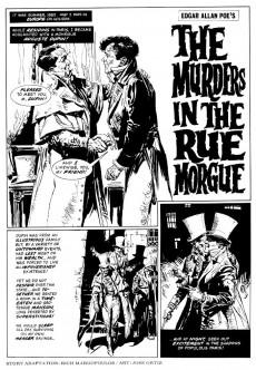 Extrait de Creepy (1964) -70- The Murders in the Rue Morgue