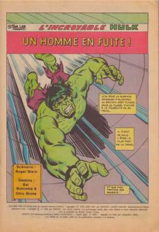 Extrait de Hulk (5e Série - Arédit - Flash Nouvelle Formule) -3- Un homme en fuite !