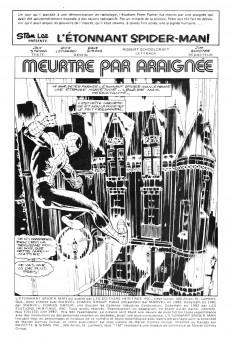 Extrait de L'Étonnant Spider-Man (Éditions Héritage) -131132- Meurtre par Araignée