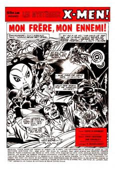 Extrait de X-Men (Éditions Héritage) -5- Mon frère, mon ennemi !