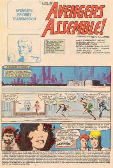 Extrait de New Mutants (The) (1983) -40- Avengers Assemble!