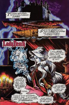 Extrait de Lady Death (1995) -1/2- Wizard Presents: Lady Death 1/2