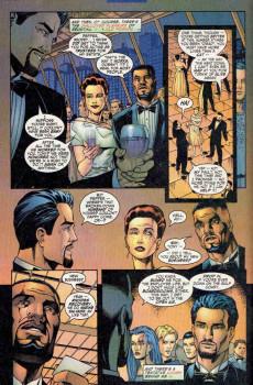 Extrait de Iron Man Vol.3 (Marvel comics - 1998) -1- Looking forward