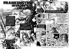 Extrait de Creepy (1964) -128- Frankenstein Invades the Universe!