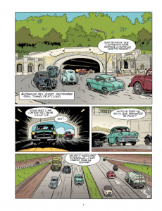 Extrait de Jacques Gipar (Une aventure de) -7- Gaby le magnifique