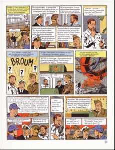 Extrait de Blake et Mortimer (Les Aventures de) -3b1993- Le Secret de l'Espadon - Tome 3