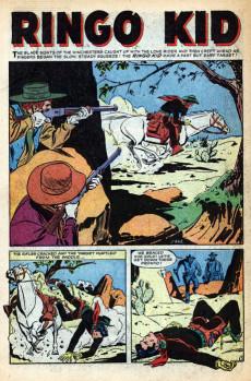Extrait de Ringo Kid Vol 1 (Atlas - 1954) -13- Ringo!the named that makes killers tremble!