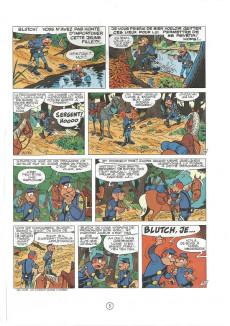 Extrait de Les tuniques Bleues -13b1989- Les bleus dans la gadoue