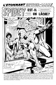 Extrait de L'Étonnant Spider-Man (Éditions Héritage) -14- Spidey est-il un lâche?