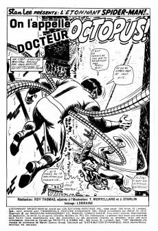 Extrait de L'Étonnant Spider-Man (Éditions Héritage) -15- On l'appelle Docteur Octopus!