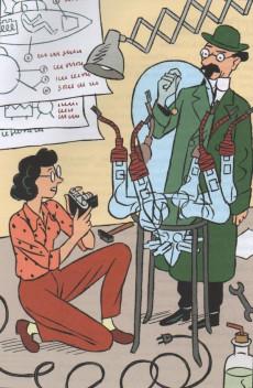 Extrait de Tintin - Divers - Les femmes dans le monde de Tintin