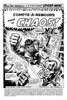Extrait de L'Étonnant Spider-Man (Éditions Héritage) -20- Compte-à-rebours avant le chaos!