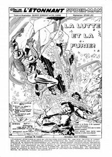 Extrait de L'Étonnant Spider-Man (Éditions Héritage) -22- La lutte et la furie!