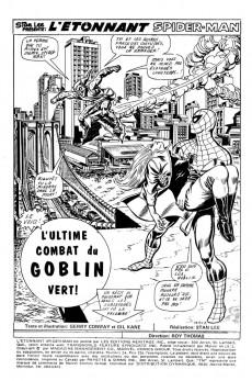 Extrait de L'Étonnant Spider-Man (Éditions Héritage) -24- L'ultime combat du Goblin Vert!