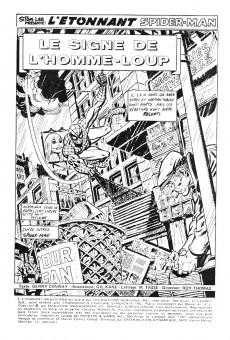 Extrait de L'Étonnant Spider-Man (Éditions Héritage) -26- Le signe de l'Homme-Loup
