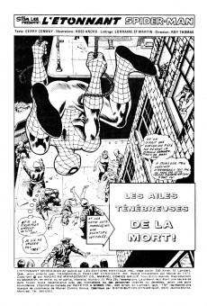 Extrait de L'Étonnant Spider-Man (Éditions Héritage) -29- Les ailes ténébreuses de la mort!