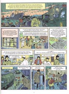 Extrait de Blake et Mortimer -25- La Vallée des Immortels - Tome 1 - Menace sur Hong Kong