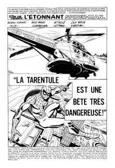 Extrait de L'Étonnant Spider-Man (Éditions Héritage) -49- La tarentule est une bête très dangereuse!