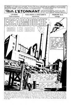 Extrait de L'Étonnant Spider-Man (Éditions Héritage) -53- Escarmouche sous les rues!