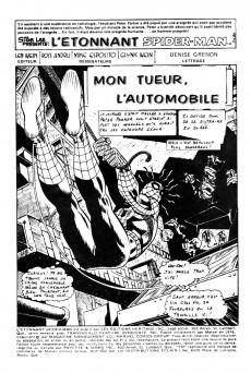 Extrait de L'Étonnant Spider-Man (Éditions Héritage) -62- Mon tueur, l'automobile