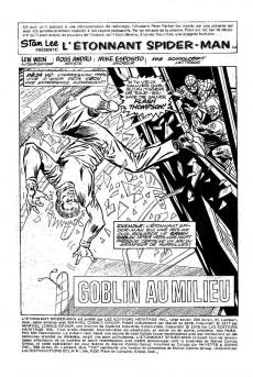 Extrait de L'Étonnant Spider-Man (Éditions Héritage) -7980- Goblin au milieu