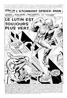 Extrait de L'Étonnant Spider-Man (Éditions Héritage) -8182- Le lutin est toujours plus vert...!