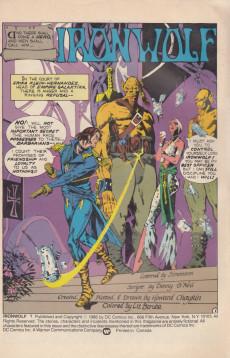 Extrait de Ironwolf (1987) -1- Ironwolf #1