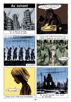 Extrait de Chansons en Bandes Dessinées  -a2018- Chansons de Jacques Brel en bandes dessinées
