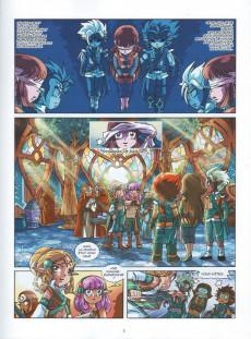 Extrait de Les légendaires -21- World Without : la Bataille du néant