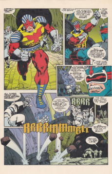 Extrait de Jack Kirby's Secret City Saga (Topps comics - 1993) -0- Jack Kirby's Secret City Saga #0