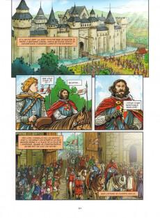 Extrait de Lille (Mosdi) -1- De Lydéric et Phinaert à Charles le Téméraire - De 58 av. J.-C. à 1477