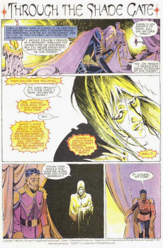 Extrait de Elric (Thomas/Gilbert/Russell, 1983) -5- Through The Shade Gate