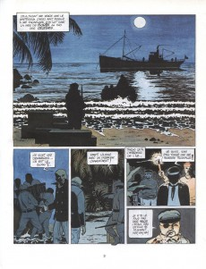 Extrait de Capitaine Sabre -3- Le double neuf d'or