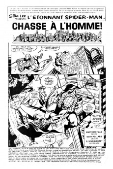 Extrait de L'Étonnant Spider-Man (Éditions Héritage) -103104- Chasse à l'homme!