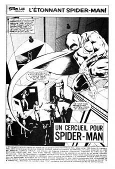 Extrait de L'Étonnant Spider-Man (Éditions Héritage) -123124- Un cercueil pour Spider-Man