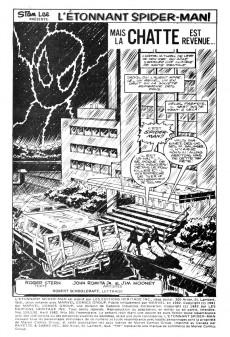 Extrait de L'Étonnant Spider-Man (Éditions Héritage) -129130- Mais la Chatte est revenue...