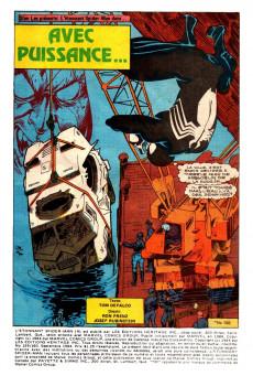 Extrait de L'Étonnant Spider-Man (Éditions Héritage) -159160- Avec puissance...