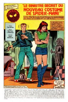 Extrait de L'Étonnant Spider-Man (Éditions Héritage) -163- Le sinistre secret du nouveau costume de Spider-Man