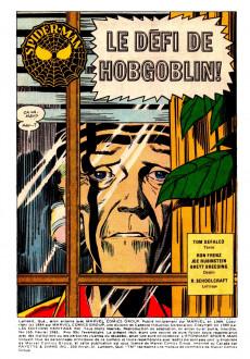 Extrait de L'Étonnant Spider-Man (Éditions Héritage) -165- Le défi de Hobgoblin!