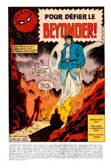 Extrait de L'Étonnant Spider-Man (Éditions Héritage) -178- Pour défier le Beyonder!