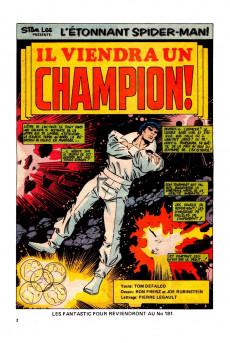 Extrait de L'Étonnant Spider-Man (Éditions Héritage) -179- Il viendra un champion!