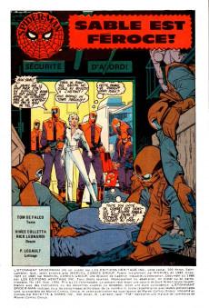 Extrait de L'Étonnant Spider-Man (Éditions Héritage) -184- Sable est féroce!