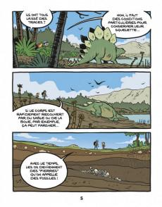 Extrait de Le fil de l'Histoire (raconté par Ariane & Nino) - La découverte des dinosaures (Une révolution archéologique)