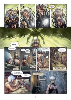 Extrait de Elfes -22- Le Gardien des racines