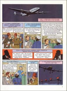 Extrait de Blake et Mortimer (Les Aventures de) -4b1996a- Le Mystère de la Grande Pyramide - Tome 1