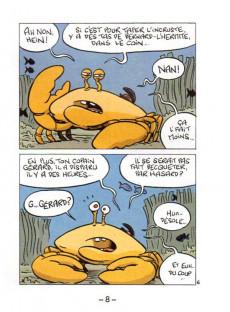 Extrait de Mini-récits et stripbooks Spirou -MR4176- La moule et le crabe