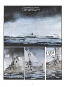 Extrait de Capitaine Sabre -6- Le dieu cargo