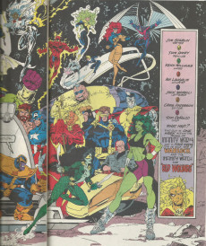 Extrait de Warlock and the Infinity Watch (1992) -8- Reunion With Thanos!