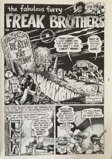 Extrait de Freak Brothers Collection (The Fabulous Furry) -4- The fabulous furry Freak Brothers - Collection four
